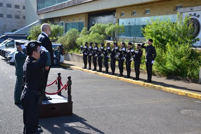 El Director General se reúne con los responsables de la Guardia Civil en Canarias