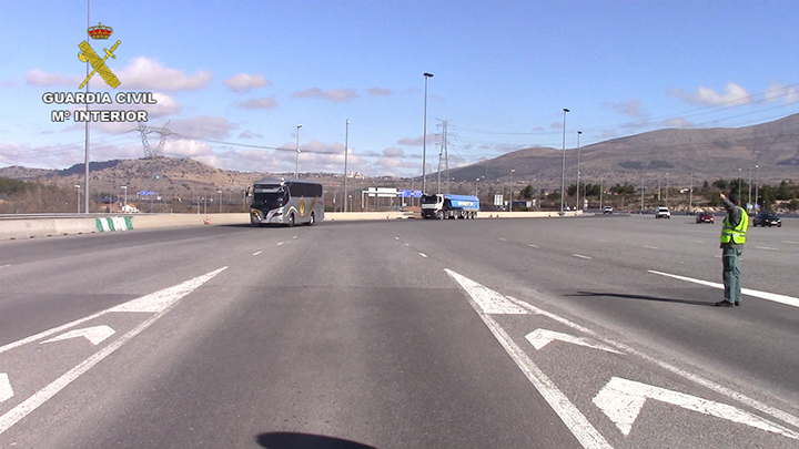 """La Guardia Civil investiga una empresa de transportes por emisiones que pudieran alcanzar 90  toneladas de Óxidos de Nitrógeno """"NOx"""""""