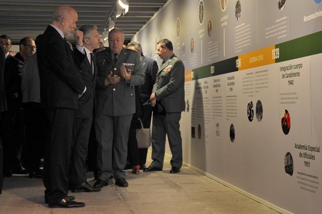 La Guardia Civil recoge en una exposición conmemorativa sus 175 años de historia
