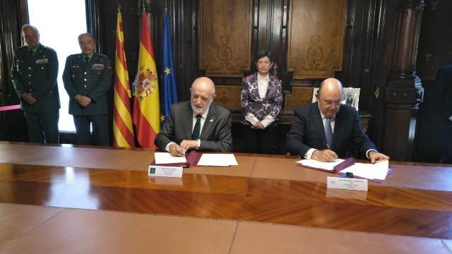 La Guardia Civil y la Real Federación Española de Tenis establecen un Protocolo en materia de  prevención de la corrupción y protección de la integridad en el tenis