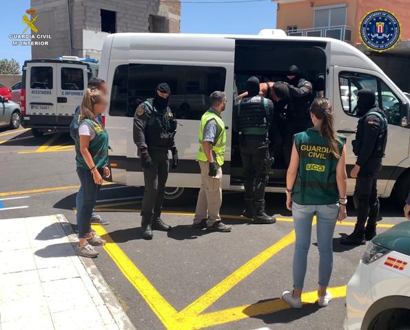 Detenido en Tenerife un peligroso fugitivo de las autoridades de EE.UU. acusado de secuestro, torturas y amenazas