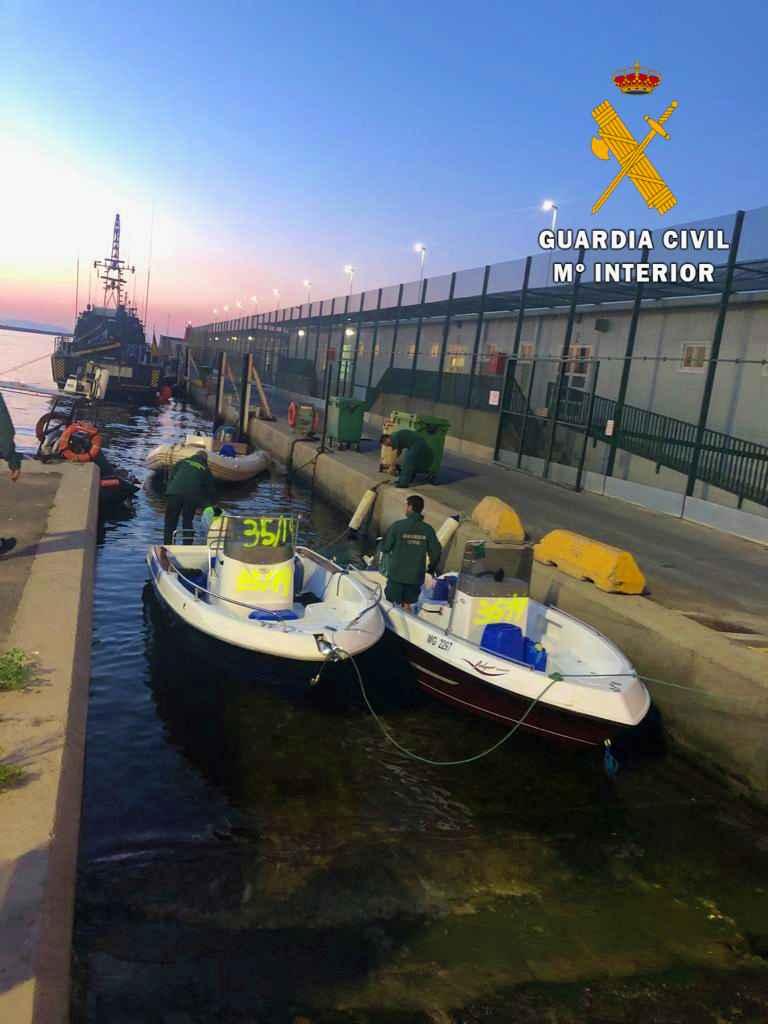 La Guardia Civil desarticula una organización dedicada a la migración de personas desde Orán (Argelia)