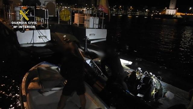 La Guardia Civil desarticula los tres grupos delictivos dedicados a la pesca furtiva de inmaduros más activos de la provincia de Málaga