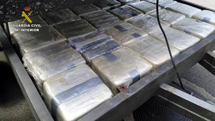 La Guardia Civil desmantela una organización dedicada a la distribución de cocaína en España y Portugal