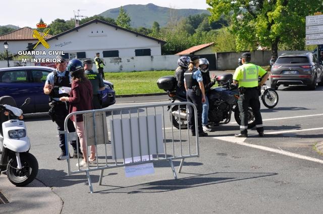 La Guardia Civil colabora con la Gendarmería Nacional de Francia en el dispositivo de seguridad de la Cumbre G7