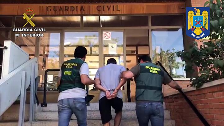 La Guardia Civil detiene a un violento ciudadano rumano buscado en su país por un delito de asesinato