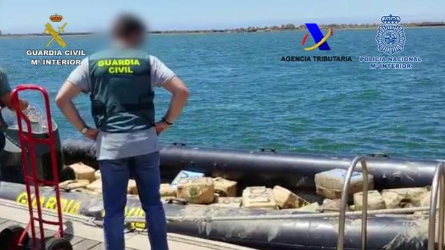 Desarticulada una importante red de narcotráfico que operaba en la provincia de Huelva
