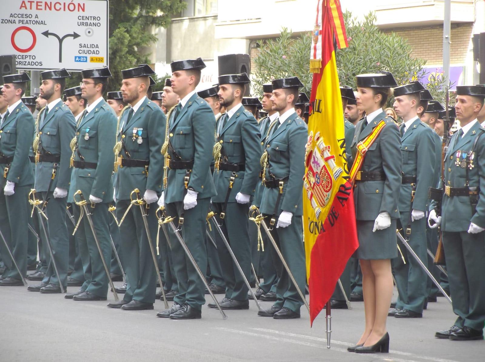 Grande-Marlaska preside en Huesca el acto central de la Guardia Civil por la celebración de su patrona