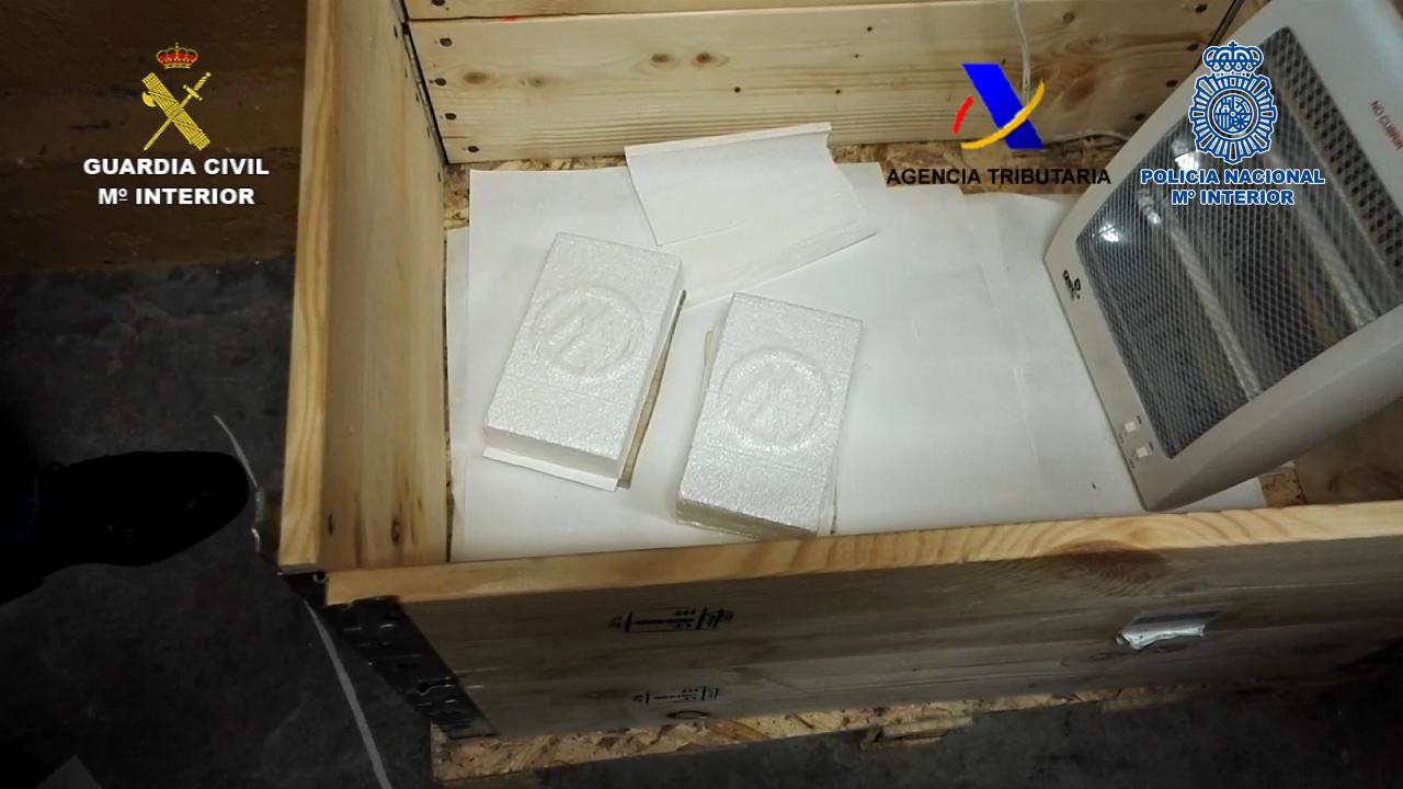 Desmantelado en Navarra un laboratorio dedicado a la fabricación de cocaína
