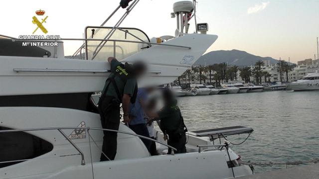 La Guardia Civil desarticula una organización delictiva que introducía grandes cantidades de hachís en España