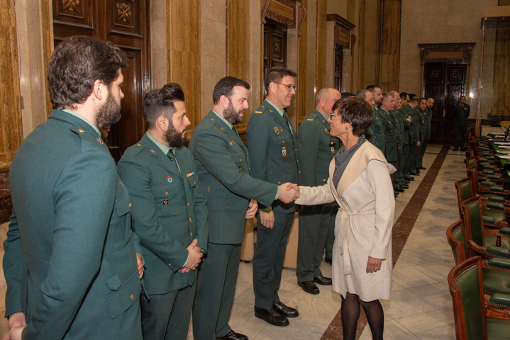 Grande-Marlaska explica a las asociaciones de la Guardia Civil que los agentes de Tráfico en Navarra podrán permanecer en la Comunidad Foral en otras unidades de la Benemérita
