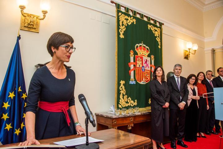 """Grande-Marlaska destaca la """"profesionalidad, capacidades y empatía"""" de los nuevos altos cargos del Ministerio"""