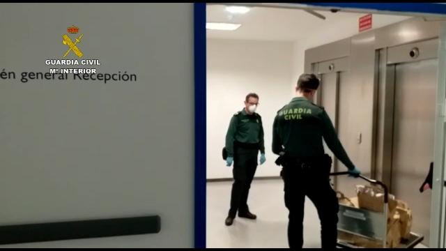 La Guardia Civil presta soporte en el funcionamiento de múltiples servicios esenciales