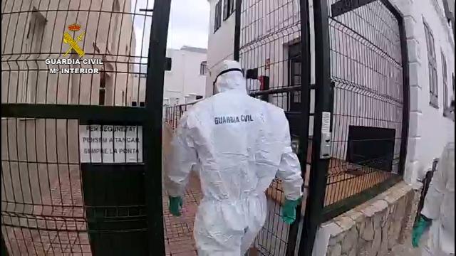 La Guardia Civil lleva a cabo diferentes actuaciones en beneficio de residencias de mayores