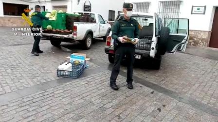 La Guardia Civil ha llevado a cabo acciones en beneficio de diferentes colectivos en Cádiz, Murcia y Zamora