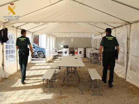 La Guardia Civil comprueba con Inspección de Trabajo el cumplimiento de los ERTE en varias empresas agrícolas