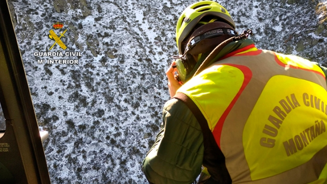 La Guardia Civil localiza el cadáver de un montañero desaparecido en la Sierra de Ayllón