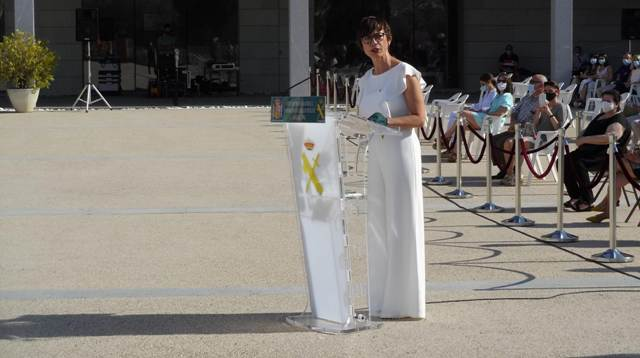 """María Gámez: """"Mandar es liderar y eso es lo que esperamos de vosotros: que lideréis la Guardia Civil y la hagáis aún más grande"""""""