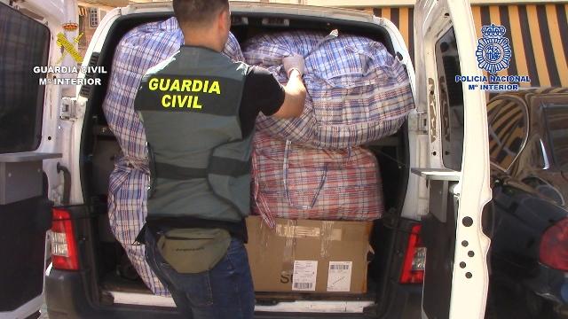 Desarticulado un grupo criminal especializado en delitos contra el patrimonio