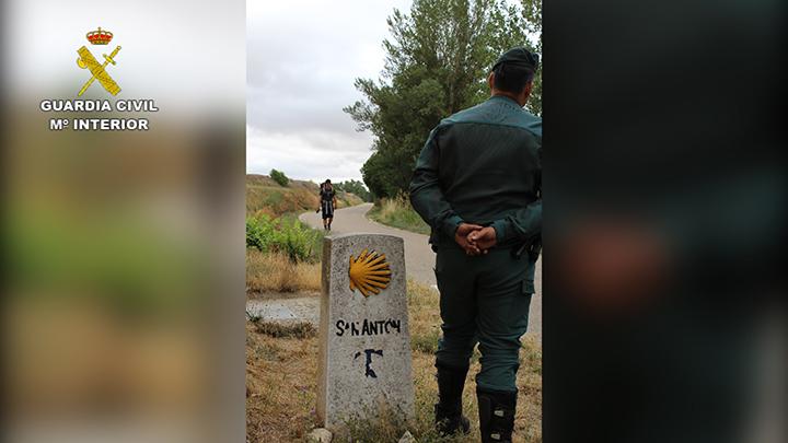 La Guardia Civil mejora la protección de los peregrinos en todos los tramos del Camino de Santiago gracias a ALERTCOPS