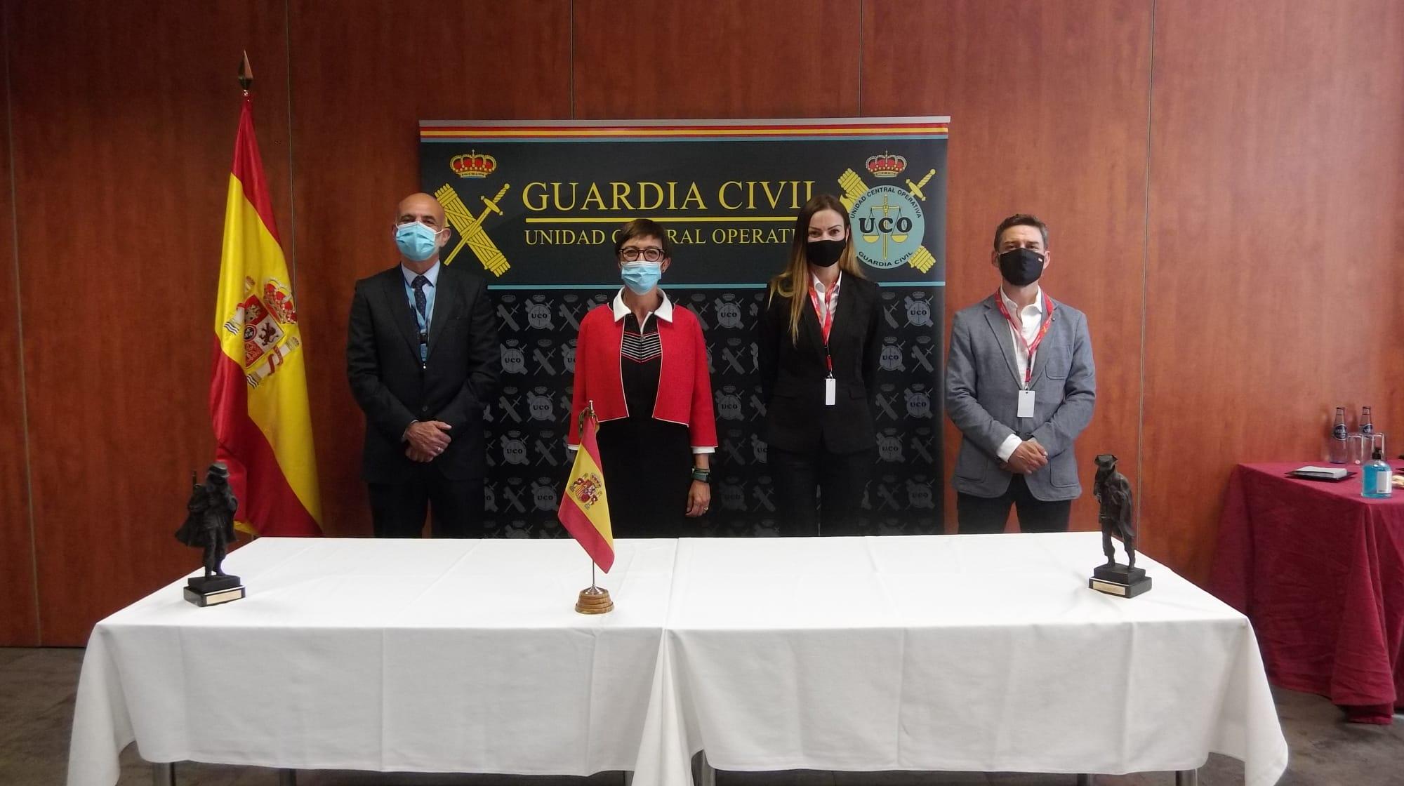 María Gámez felicita a los investigadores del caso de Manuela Chavero