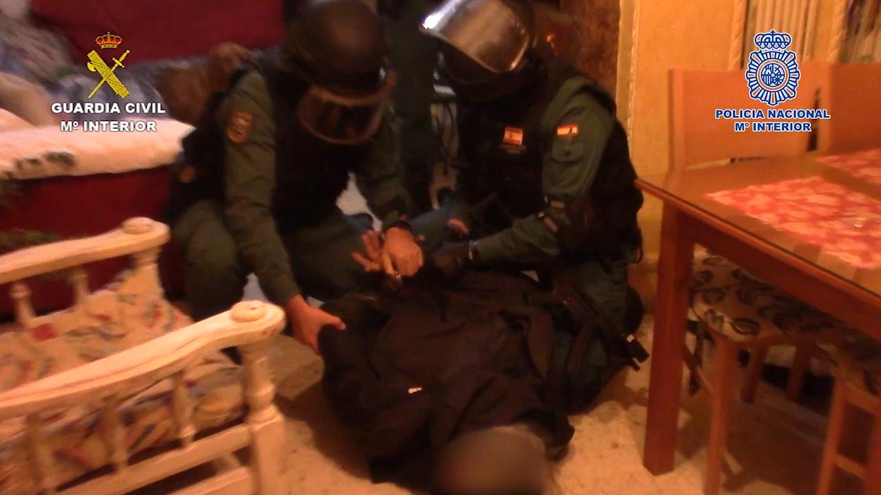 Desarticulado un entramado criminal especializado en introducir envíos de droga por las costas de Cádiz y Huelva