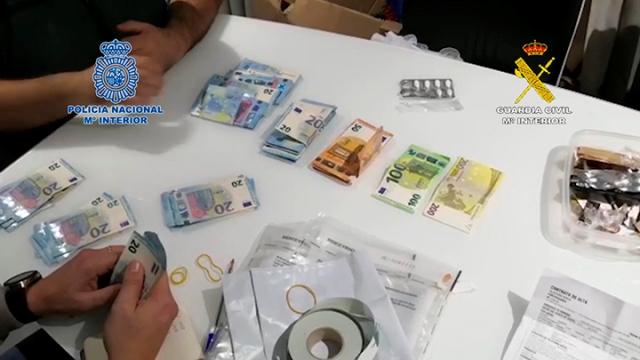 Golpe al narcotráfico con la mayor aprehensión de drogas sintéticas en la historia de España