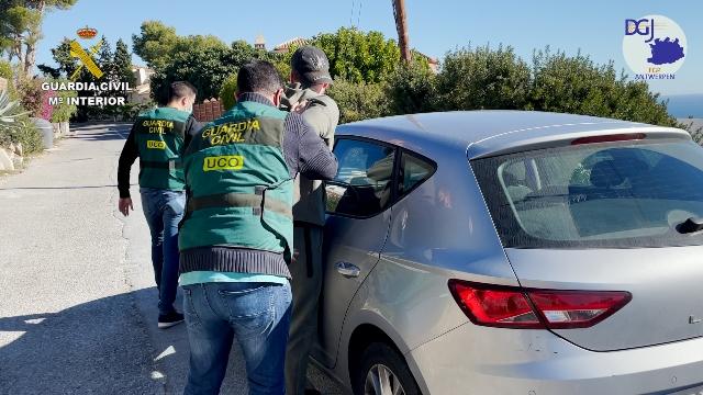La Guardia Civil detiene a uno de los mayores narcotraficantes de Bélgica reclamado por aquel país