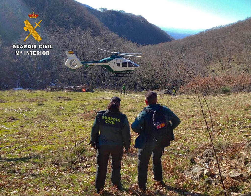 La Guardia Civil rescata a varias personas en el mismo día en distintos puntos de Castilla y León, Castilla la Mancha y Extremadura