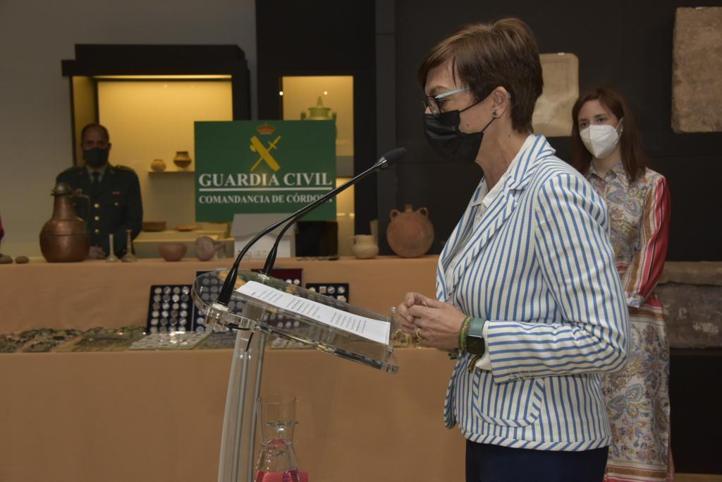 La Guardia Civil incluye en la protección del patrimonio histórico como una de sus líneas del trabajo prioritaria