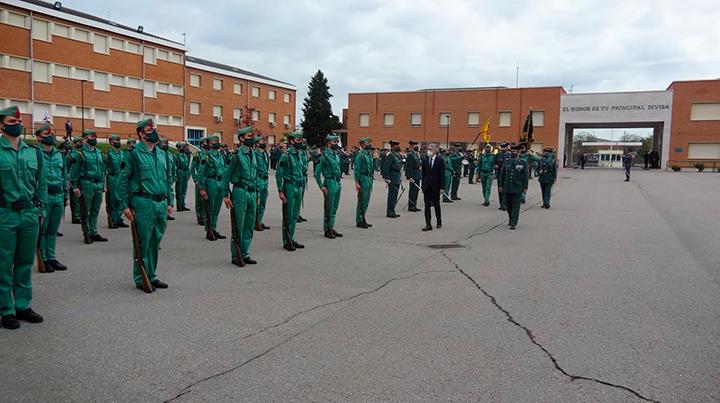 Grande-Marlaska visita el Colegio de Guardias Jóvenes de la Guardia Civil