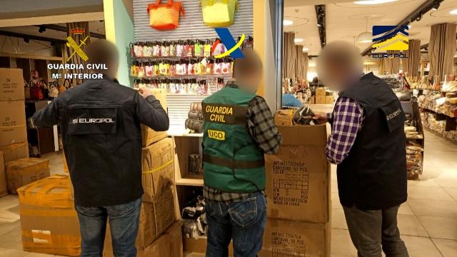 La Guardia Civil desarticula una organización criminal de origen chino que habría defraudado y blanqueado más de 105 M€ entre 2010 y 2017