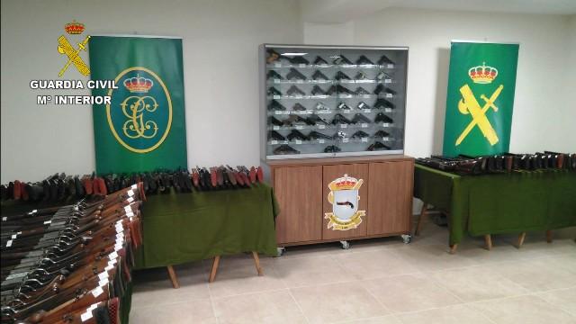 La Intervención de Armas y Explosivos de la Guardia Civil cumple 35 años