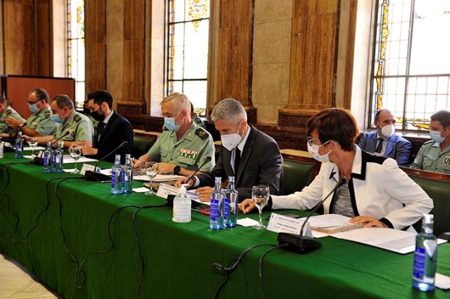 El ministro del Interior preside el pleno extraordinario del Consejo de la Guardia Civil
