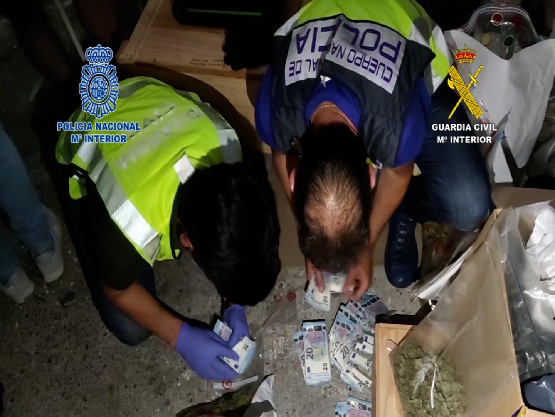 Detenido un histórico delincuente al frente de una de las organizaciones de narcos más activas del norte de España