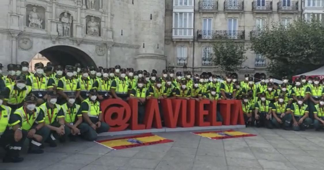 La Guardia Civil inicia el dispositivo de seguridad de la Vuelta ciclista a España 2021