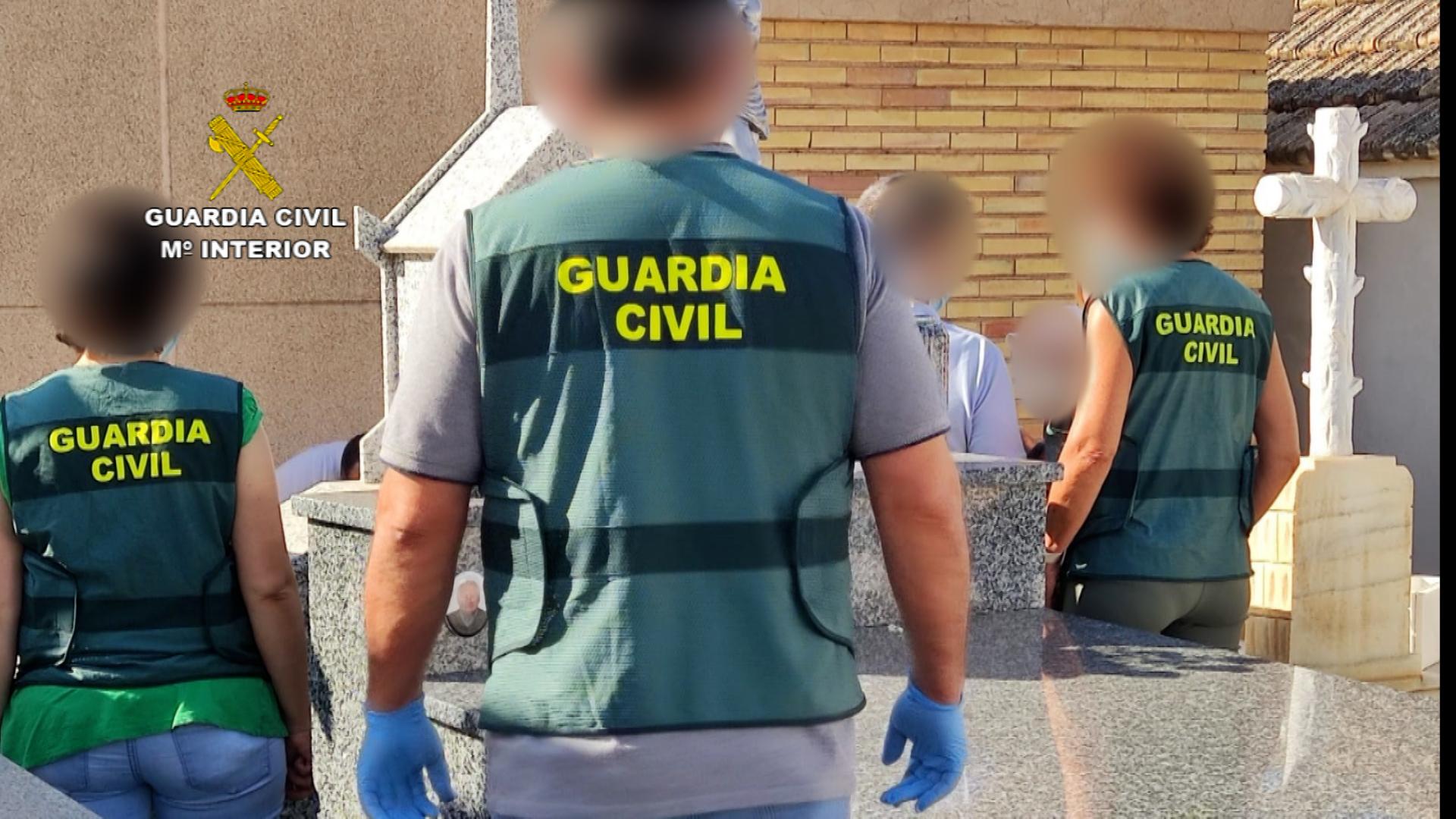 La Guardia Civil detiene a dos mujeres relacionadas con la muerte de un octogenario