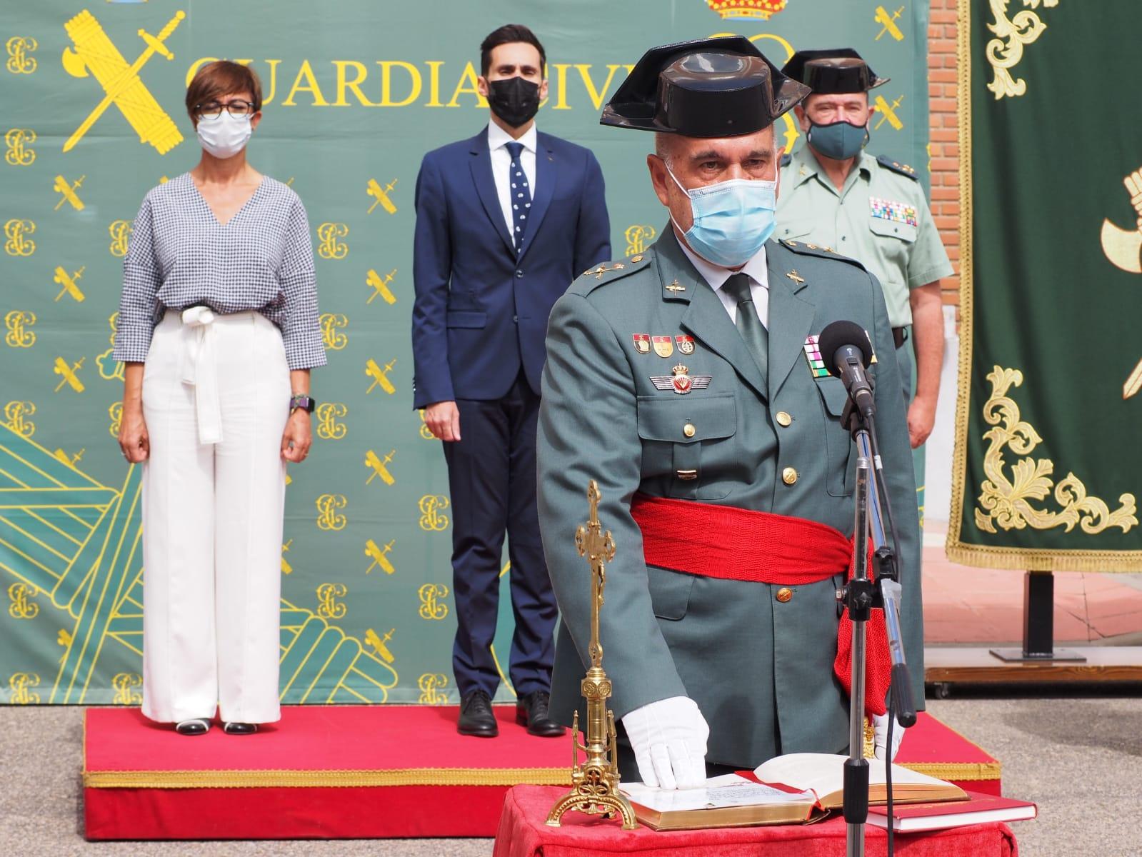 El secretario de Estado de Seguridad preside la toma de posesión del nuevo jefe de la Zona de la Guardia Civil en Castilla y León