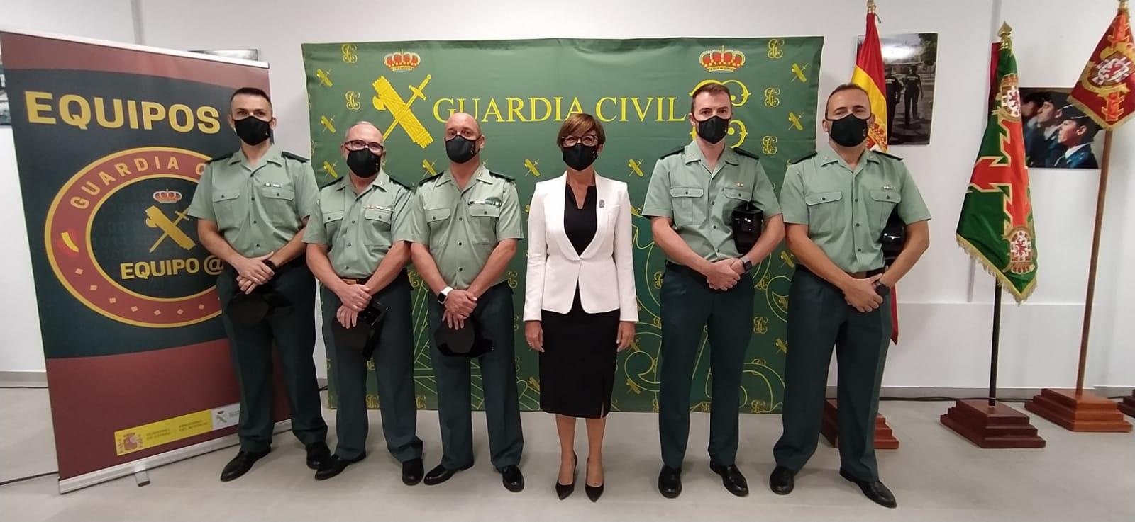 La directora general de la Guardia Civil presenta en Córdoba los Equipos @ de prevención y respuesta en materia de ciberdelincuencia
