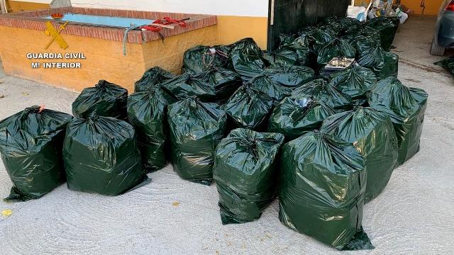 La Guardia Civil desmantela una importante organización polaca de narcotraficantes que operaba en Andalucía
