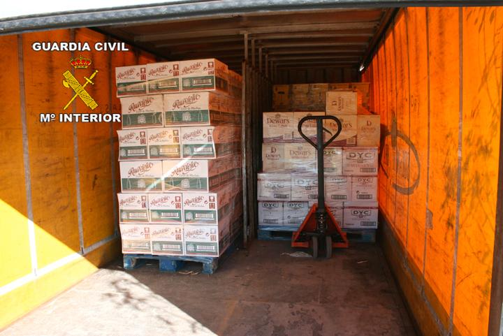 La Guardia Civil detiene a 6 personas pertenecientes a una organización dedicada al robo en polígonos industriales y en viviendas