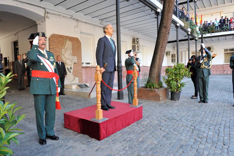 El Director General preside los actos de festividad de la Patrona de la Guardia Civil  en Madrid
