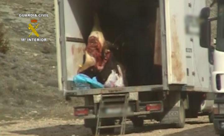 La Guardia Civil desarticula un grupo organizado dedicado a la comercialización ilegal de carne de caza