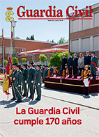 La Guardia Civil cumple 170 años