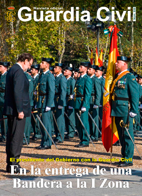 La Guardia Civil de Madrid recibe su propia Bandera