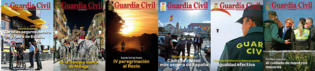histórico revista Guardia Civil