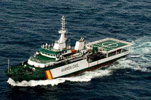 Buque Transoceánico Río Segura de la Guardia Civil