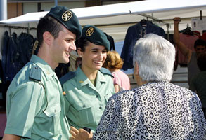 Pareja Guardia Civil