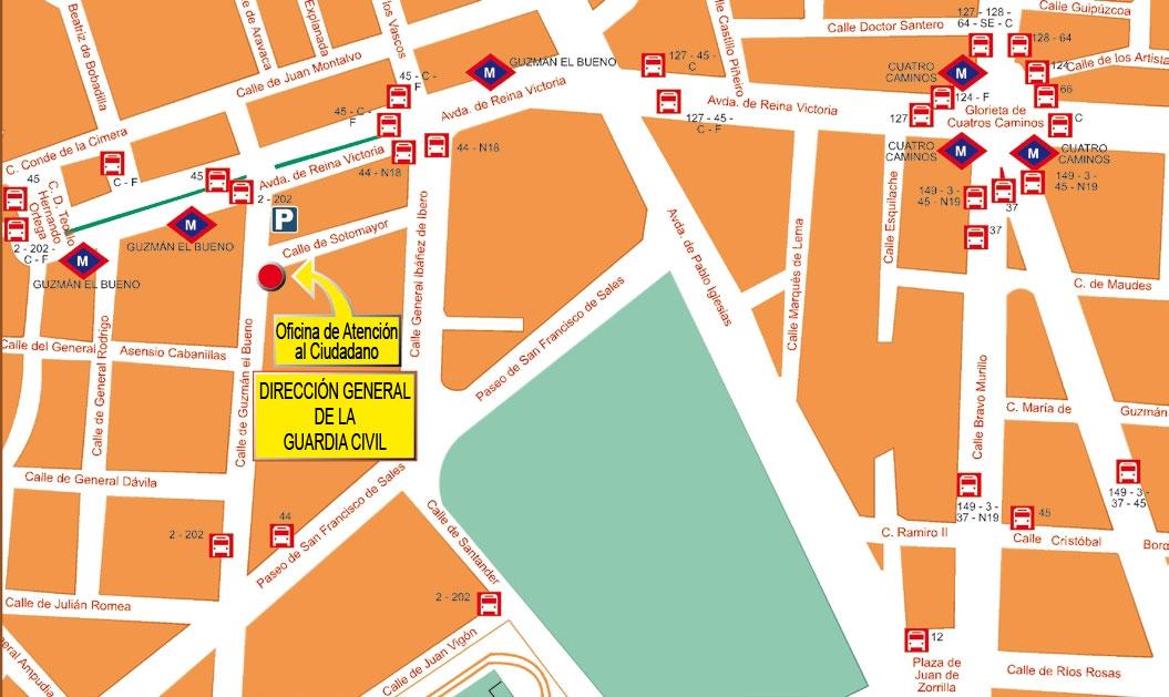 Atenci n al ciudadano - Oficinas de atencion a la ciudadania linea madrid ...