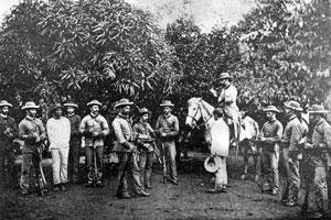 Guardia Civil en Cuba 1891